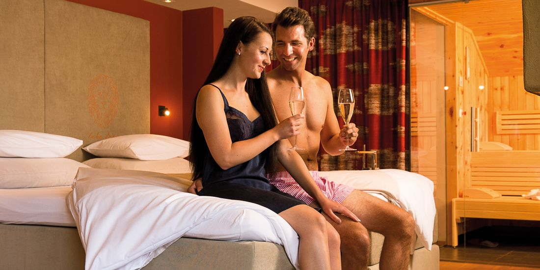 Luxurious suites for a romantic holiday