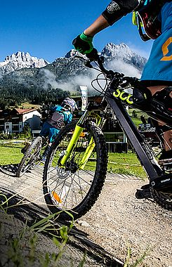Bike-Genuss in Leogang