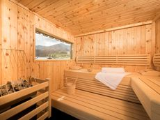 Wellness Suite mit Sauna