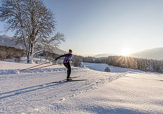 Dreamlike cross-country ski trails