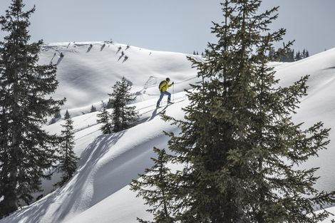 Ski tours in Leogang